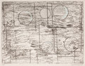 Prints, BARBARA HEPWORTH (British, 1903-1975). Squares and Circles, 1969. Lithograph. 21 x 27-1/2 inches (53.3 x 69.9 cm). Ed. 2...