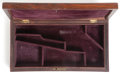 Arms Accessories, Scarce Rosewood Case for 5-inch Barrel Colt Model 1849 PocketRevolver...