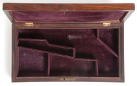 Scarce Rosewood Case for 5-inch Barrel Colt Model 1849 Pocket Revolver