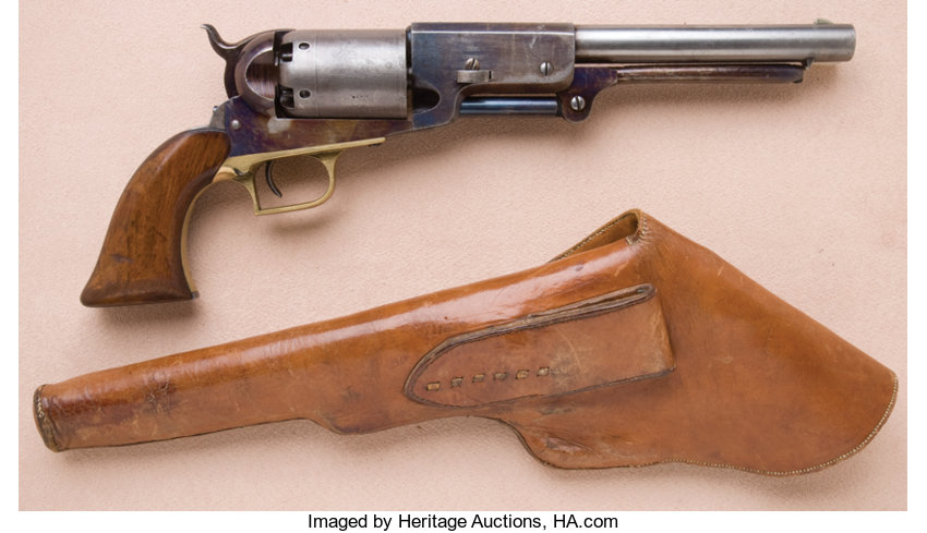 Fine and Exceptional Colt Walker Model Civilian Series