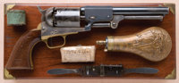 Fine, Cased, Historic, and U.S. Martially Marked Colt Third Model Dragoon Revolver, with Smithsonian Institution Stampin...
