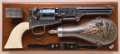"Historic Cased, Gustave Young-Engraved and Ivory-Gripped Colt Third Model Dragoon Revolver, Inscribed ""Colonel P.M..."