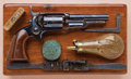 Military & Patriotic:Indian Wars, Exceptional and Rare Cased Colt Model 1855 Pocket Model Sidehammer Revolver, Variation with Screw in Cylinder...