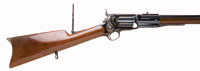 Exceptional and Scarce Model 1855 Sidehammer Sporting Rifle, with Fluted Cylinder