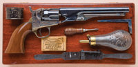 Exceptional Cased Colt Model 1862 New Model Police Revolver