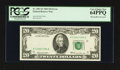 Error Notes:Obstruction Errors, Fr. 2067-K $20 1969 Federal Reserve Note. PCGS Very Choice New64PPQ.. ...