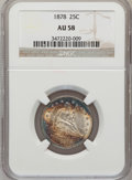 Seated Quarters: , 1878 25C AU58 NGC. NGC Census: (14/64). PCGS Population (8/84).Mintage: 2,260,800. Numismedia Wsl. Price for problem free ...