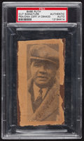 Baseball Collectibles:Photos, Babe Ruth Signed Clipping....