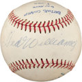 Baseball Collectibles:Balls, Players with 6 or More Batting Titles Multi Signed Baseball....