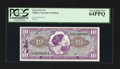 Military Payment Certificates:Series 651, Series 651 $10 PCGS Very Choice New 64PPQ.. ...
