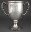 Silver Holloware, American:Cups, GORHAM SILVER SPECIAL ORDER TWO-HANDLED 16 PINT PRESENTATION CUP .Providence, Rhode Island, 1920. Marks: (lion-anchor-G), ...