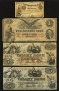 Obsoletes By State:Mixed States, Four Circulated Obsoletes.. ... (Total: 4 notes)