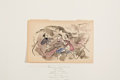 Works on Paper, JULES PASCIN (French, 1885-1930). Two Watercolors: Good Times and Ladies of Leisure. Watercolor and India ink on pap... (Total: 2 Items)