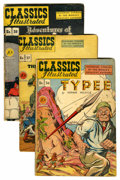 Golden Age (1938-1955):Classics Illustrated, Classics Illustrated Group (Gilberton, 1947-69) Condition: AverageVG-.... (Total: 57 Comic Books)
