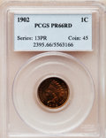 Proof Indian Cents, 1902 1C PR66 Red PCGS....