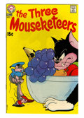 Bronze Age (1970-1979):Cartoon Character, The Three Mouseketeers #1 (DC, 1970) Condition: FN/VF....