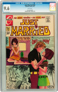 Bronze Age (1970-1979):Romance, Just Married #84 (Charlton, 1972) CGC NM+ 9.6 White pages....