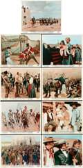 """Movie Posters:Western, The Alamo (United Artists, 1960). British Front of House Color Photos (9) (8"""" X 10"""").. ... (Total: 9 Items)"""
