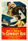 "Movie Posters:Western, The Cowboy Kid (Fox, 1928). One Sheet (27"" X 41"").. ..."