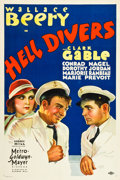 """Movie Posters:Adventure, Hell Divers (MGM, 1932). One Sheet (27"""" X 40.5"""").. ..."""
