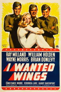 "I Wanted Wings (Paramount, 1941). One Sheet (27"" X 41"") Style B"