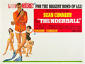 "Movie Posters:James Bond, Thunderball (United Artists, 1965). Subway (44.75"" X 59.25"").. ..."