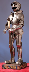 Militaria:Armor, Miniature Suit of Armor in the 16th Century German Style.. ...