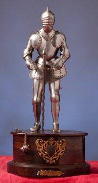 Militaria Armor Fine Miniature Suit Of In The 16th Century German Style Byedward