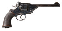 "British Webley ""WG"" Target Model Double Action Revolver"
