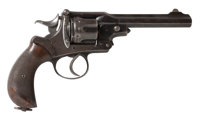 British Webley Kaufman Army & Navy C.S.L. Second Model Double Action Revolver Belonging To A.N. Weaver