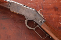 Scarce British-Proofed and Irish Agent-Marked Winchester Second Model 1873 Saddle Ring Carbine