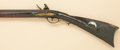 "Long Guns:Muzzle loading, Scarce ""Golden Age"" Flintlock Kentucky Rifle with raised-carved stock attributed to John Orwin, Carlisle, Pa. ..."