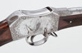 Long Guns, Exceptional and Historic Deluxe Providence Tool Co. Peabody-Martini Rifle, Exquisitely Engraved by C.F. Ulrich for the Philade...