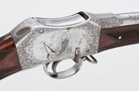 Exceptional and Historic Deluxe Providence Tool Co. Peabody-Martini Rifle, Exquisitely Engraved by C.F. Ulrich for the P...