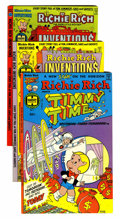 Bronze Age (1970-1979):Cartoon Character, Richie Rich Inventions File Copies Group (Harvey, 1977-82)Condition: Average NM-.... (Total: 74 Comic Books)