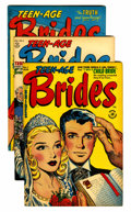 Golden Age (1938-1955):Romance, Teen-Age Brides and Others File Copies Group (Harvey, 1953-58)Condition: Average VF.... (Total: 27 Comic Books)