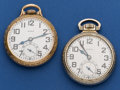 Timepieces:Pocket (post 1900), Two Elgin 21 Jewel B.W. Raymond's Pocket Watches. ... (Total: 2 Items)