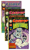 Bronze Age (1970-1979):Cartoon Character, Casper-Related Group (Harvey, 1970s) Condition: Average NM-....(Total: 30 Comic Books)