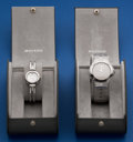 Timepieces:Wristwatch, Movado His & Hers Steel Museum Watches. ... (Total: 2 Items)