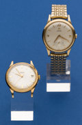 Timepieces:Wristwatch, Two - Omega's Automatic Wristwatches Runners. ... (Total: 2 Items)