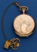 Timepieces:Pocket (post 1900), Illinois 16 Size 15 Jewel Hunter's Case Pocket Watch. ...