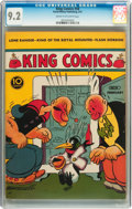 Golden Age (1938-1955):Miscellaneous, King Comics #58 (David McKay Publications, 1941) CGC NM- 9.2 Cream to off-white pages....
