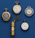 Timepieces:Pendant , Five Lady's Pendant Watches. ... (Total: 5 Items)