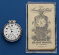 Timepieces:Pocket (post 1900), Hamilton 23 Jewel Grade 946 With Railroad Inspectors Book. ...