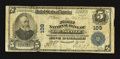 National Bank Notes:Kentucky, Louisville, KY - $5 1902 Plain Back Fr. 598 The First NB Ch. # 109....