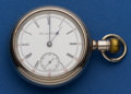 Timepieces:Pocket (post 1900), Hamilton 18 Size Grade 931 - 16 Jewel Pocket Watch. ...