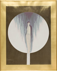 ERTÉ (ROMAIN DE TIRTOFF) (Russian/French, 1892-1990) Untitled Serigraph 14-1/2 x 11-1/2 inches (3