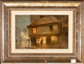 Paintings, GEORGE HYDE-POWNALL (British, 1876-1932). The Old Curiosity Shop, circa 1915. Oil on board. 7 x 9-1/2 inches (17.8 x 24....