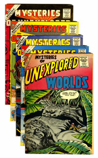 Mysteries of Unexplored Worlds Group (Charlton, 1956-61).... (Total: 5 Comic Books)