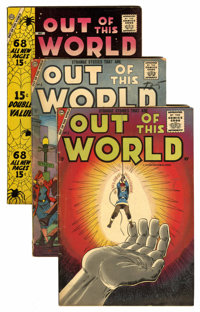 Out of This World Group (Charlton, 1957-59).... (Total: 6 Comic Books)